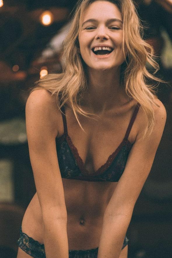 Wild Woman Triangle bra
