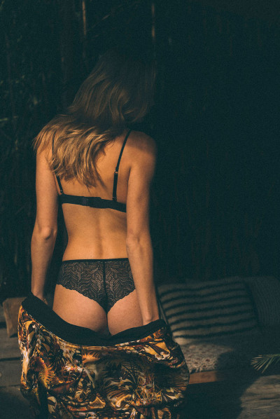 Soutien-gorge triangle Wicked game recyclé