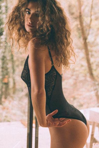 Dessus-dessous Body Wicked game dentelle recyclée