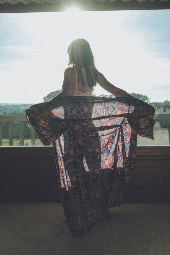Dessus-dessous Kimono under my skin